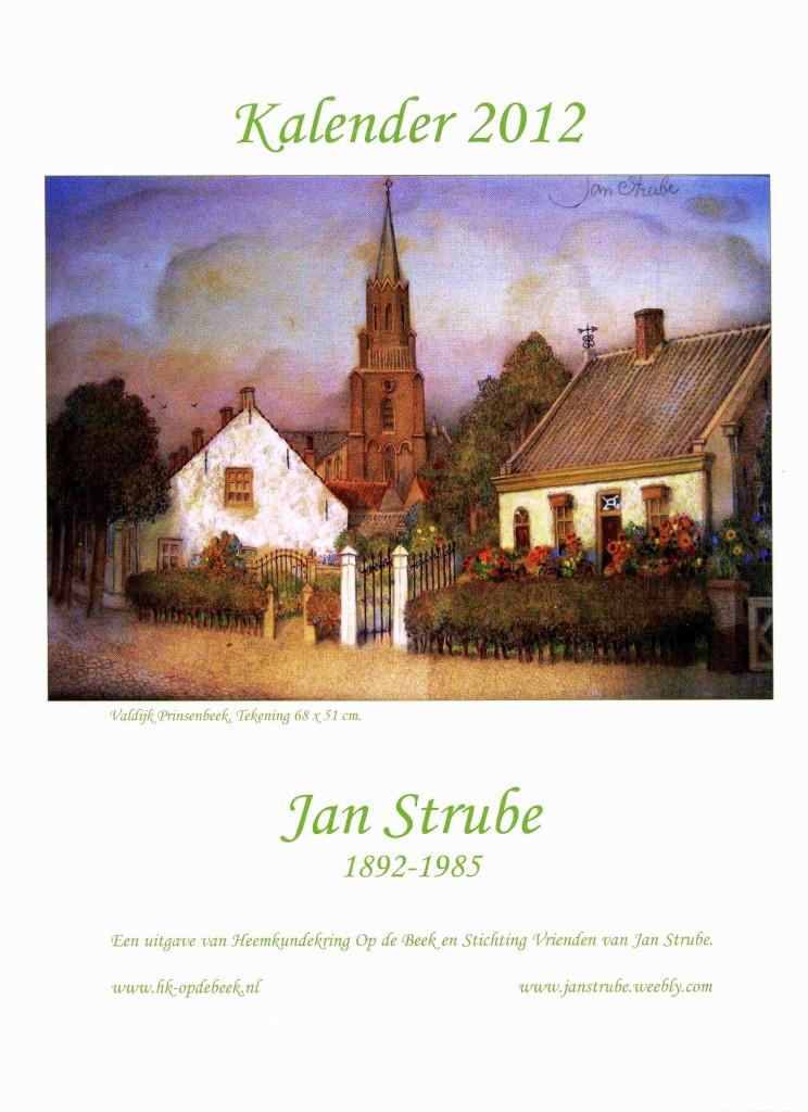 Kunstkalender met werken van Jan Strube